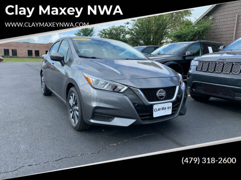 2021 Nissan Versa for sale at Clay Maxey NWA in Springdale AR