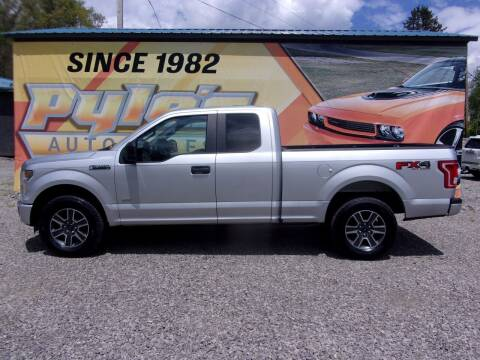 2016 Ford F-150 for sale at Pyles Auto Sales in Kittanning PA