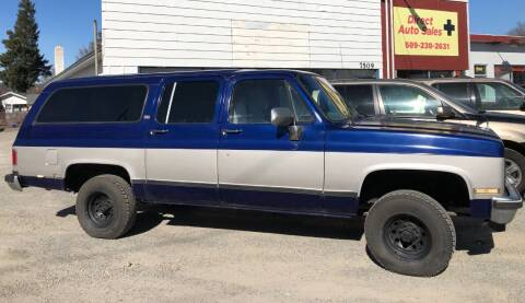1990 Chevrolet Suburban for sale at Direct Auto Sales+ in Spokane Valley WA