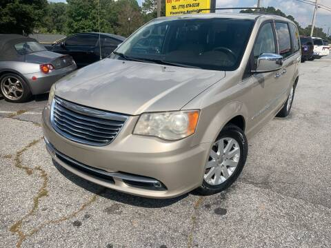 2012 Chrysler Town and Country for sale at Luxury Cars of Atlanta in Snellville GA