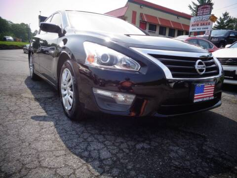 2015 Nissan Altima for sale at Quickway Exotic Auto in Bloomingburg NY