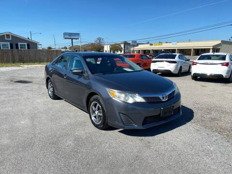 2012 Toyota Camry for sale at Lucky Motors in Panama City FL