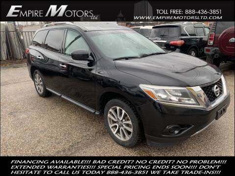 2013 Nissan Pathfinder for sale at Empire Motors LTD in Cleveland OH