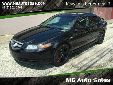 2006 Acura TL for sale at MG Auto Sales in Pittsburgh PA