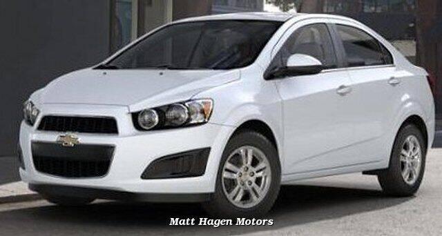 2013 Chevrolet Sonic for sale at Matt Hagen Motors in Newport NC