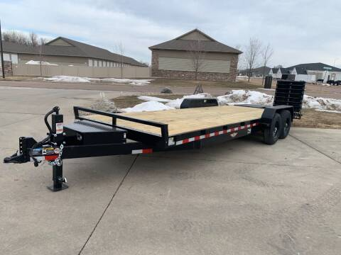 2021 H&H Industrial 8220+4 EQ #8754 for sale at Prairie Wind Trailers, LLC in Harrisburg SD