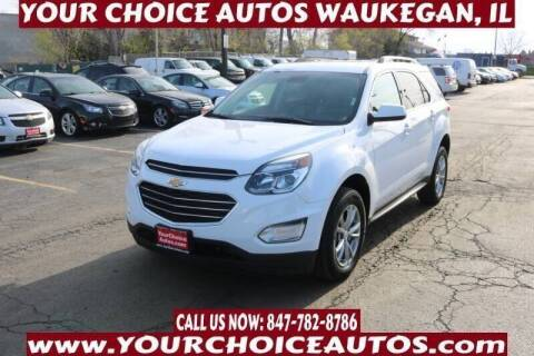 2017 Chevrolet Equinox for sale at Your Choice Autos - Waukegan in Waukegan IL