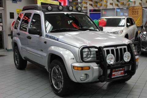 2003 Jeep Liberty for sale at Windy City Motors in Chicago IL