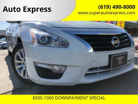 2014 Nissan Altima for sale at Auto Express in Chula Vista CA