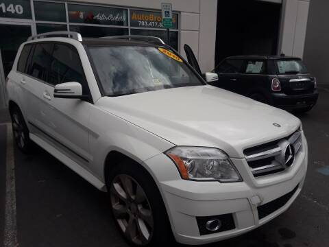 2010 Mercedes-Benz GLK for sale at M & M Auto Brokers in Chantilly VA