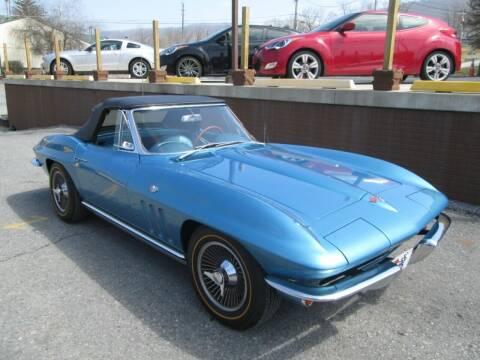1965 Chevrolet Corvette for sale at WORKMAN AUTO INC in Pleasant Gap PA