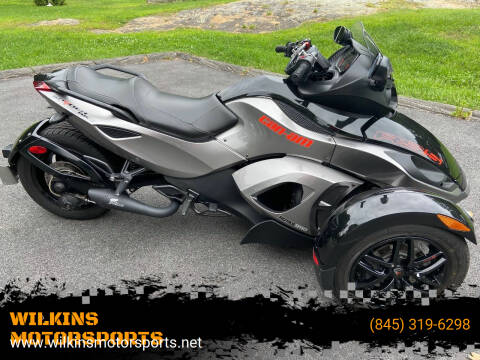 2012 Can-Am Spyder for sale at WILKINS MOTORSPORTS in Brewster NY