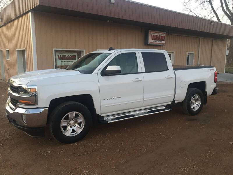 2017 Chevrolet Silverado 1500 for sale at Palmer Welcome Auto in New Prague MN