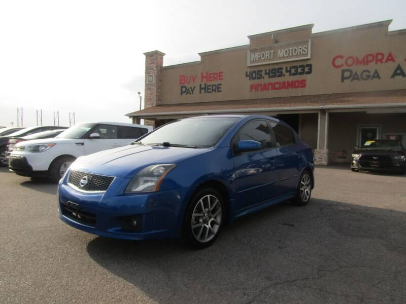 2008 Nissan Sentra for sale at Import Motors in Bethany OK