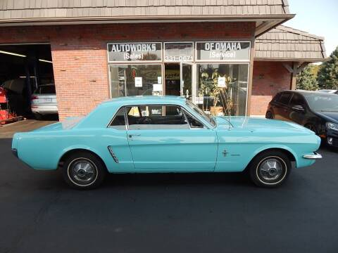 1965 Ford Mustang for sale at AUTOWORKS OF OMAHA INC in Omaha NE