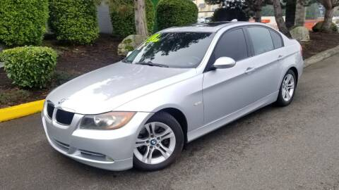 2008 BMW 3 Series for sale at SS MOTORS LLC in Edmonds WA