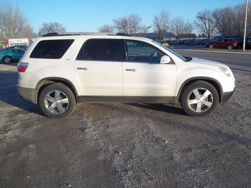 2011 GMC Acadia for sale at BRETT SPAULDING SALES in Onawa IA