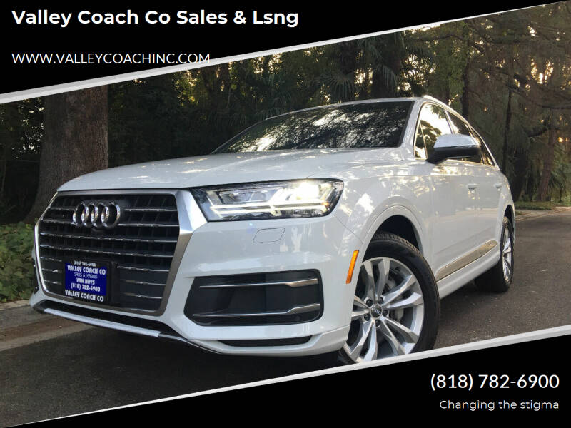 2019 Audi Q7 for sale at Valley Coach Co Sales & Lsng in Van Nuys CA