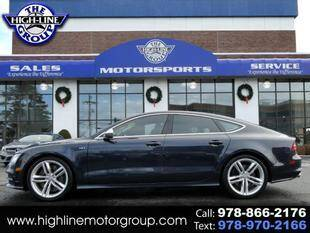 2014 Audi S7 for sale at Highline Group Motorsports in Lowell MA