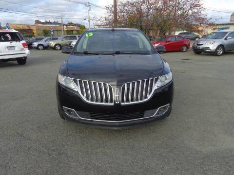 2013 Lincoln MKX for sale at Merrimack Motors in Lawrence MA