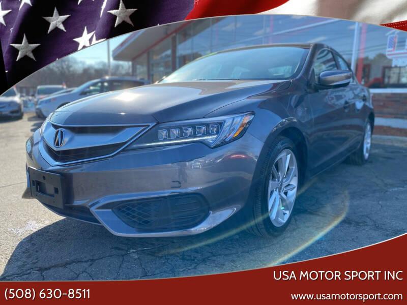 2018 Acura ILX for sale at USA Motor Sport inc in Marlborough MA