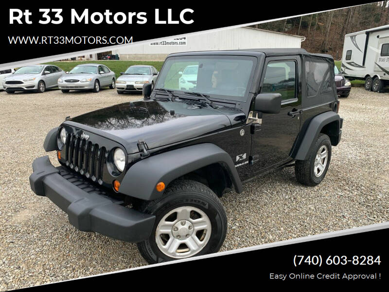 2008 Jeep Wrangler for sale at Rt 33 Motors LLC in Rockbridge OH
