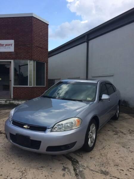 2006 Chevrolet Impala for sale at Village Auto Center INC in Harrisonburg VA
