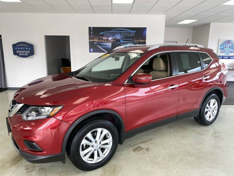 2016 Nissan Rogue for sale at Used Car Outlet in Bloomington IL