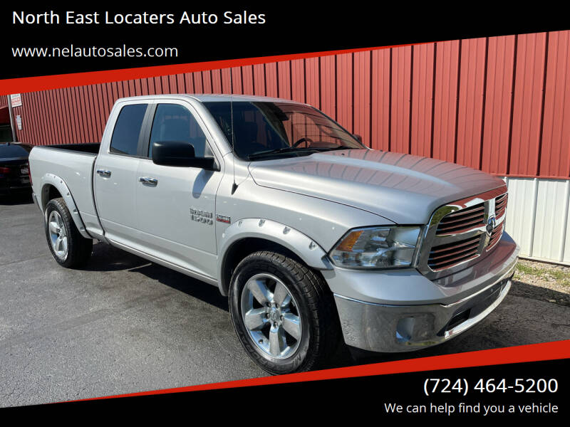2016 RAM Ram Pickup 1500 for sale at North East Locaters Auto Sales in Indiana PA