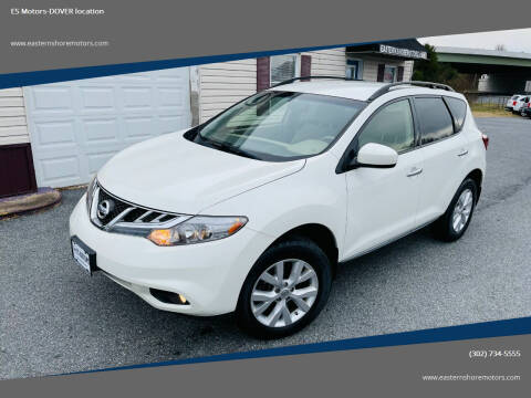2014 Nissan Murano for sale at ES Motors-DAGSBORO location - Dover in Dover DE