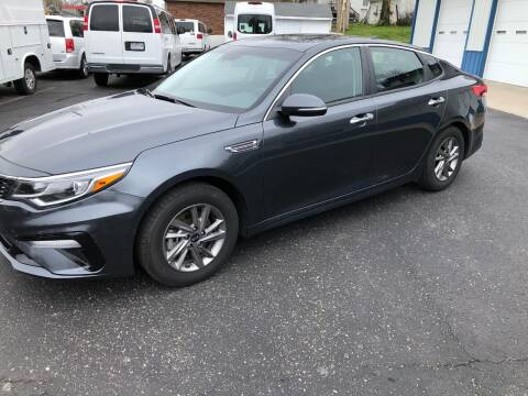 2020 Kia Optima for sale at Teds Auto Inc in Marshall MO