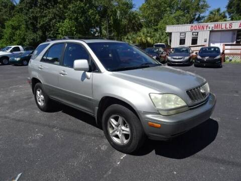 2003 Lexus RX 300 for sale at DONNY MILLS AUTO SALES in Largo FL