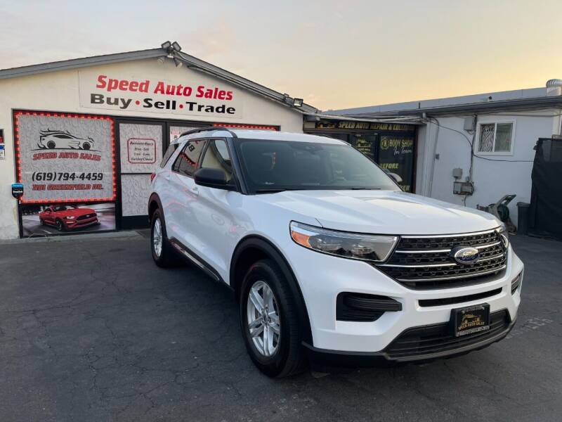 2020 Ford Explorer for sale at Speed Auto Sales in El Cajon CA