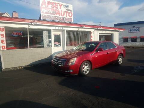 2009 Cadillac CTS for sale at Apsey Auto in Marshfield WI