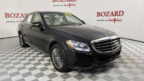 2016 Mercedes-Benz C-Class for sale at BOZARD FORD in Saint Augustine FL