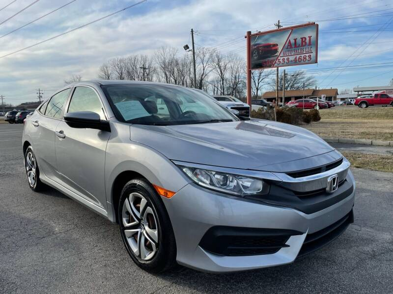 2018 Honda Civic for sale at Albi Auto Sales LLC in Louisville KY