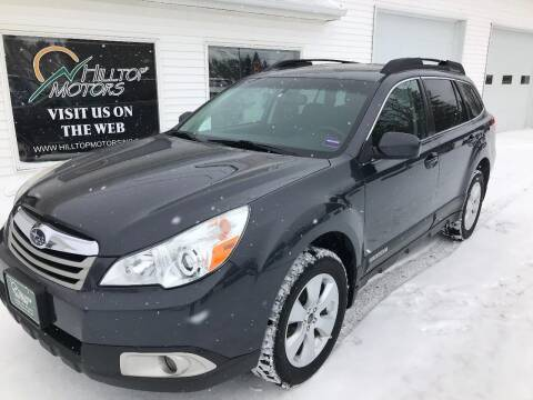 2012 Subaru Outback for sale at HILLTOP MOTORS INC in Caribou ME