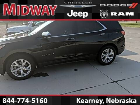 2018 Chevrolet Equinox for sale at MIDWAY CHRYSLER DODGE JEEP RAM in Kearney NE