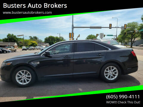 2015 Ford Taurus for sale at Busters Auto Brokers in Mitchell SD