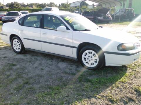 2001 Chevrolet Impala for sale at Warren's Auto Sales, Inc. in Lakeland FL