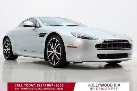 2011 Aston Martin V8 Vantage for sale at JumboAutoGroup.com in Hollywood FL