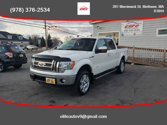 2012 Ford F-150 for sale at ELITE AUTO SALES, INC in Methuen MA