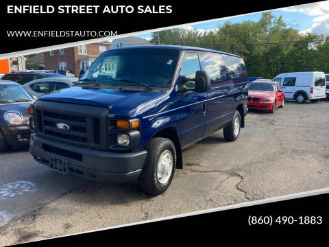 2014 Ford E-Series Cargo for sale at ENFIELD STREET AUTO SALES in Enfield CT