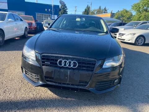 2011 Audi A4 for sale at JZ Auto Sales in Happy Valley OR