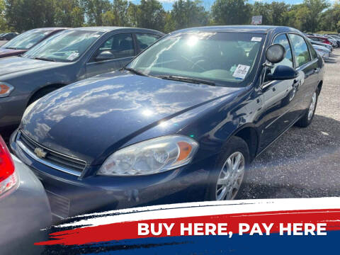 2008 Chevrolet Impala for sale at Government Fleet Sales - Buy Here Pay Here in Kansas City MO