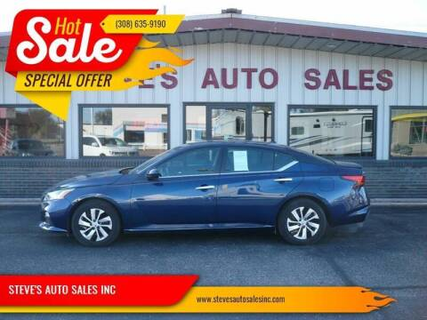 2019 Nissan Altima for sale at STEVE'S AUTO SALES INC - Regular Inventory in Scottsbluff NE