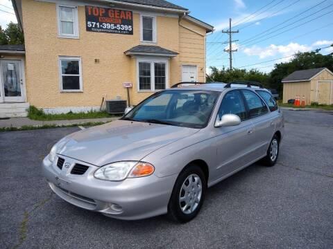 2000 Hyundai Elantra for sale at Top Gear Motors in Winchester VA