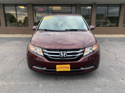 2014 Honda Odyssey for sale at Greenville Motor Company in Greenville NC