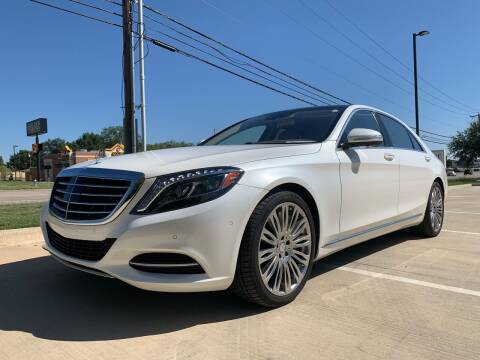 2015 Mercedes-Benz S-Class for sale at Dream Lane Motors in Euless TX