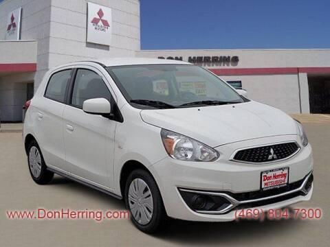 2020 Mitsubishi Mirage for sale at DON HERRING MITSUBISHI in Irving TX